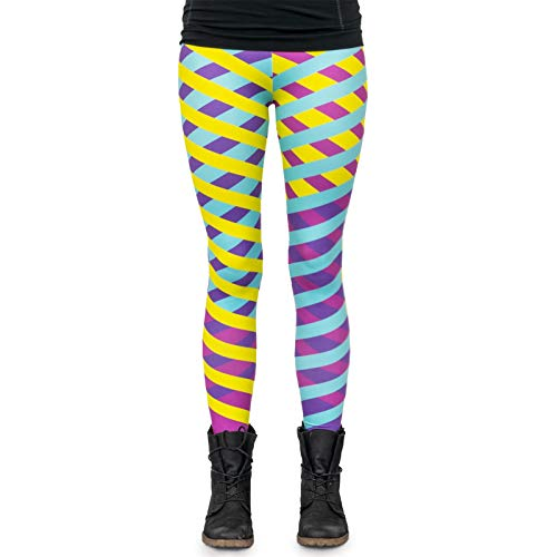 cosey - Neon Line Leggings (one size fits all) - in verschillende Neo-Crossline Design
